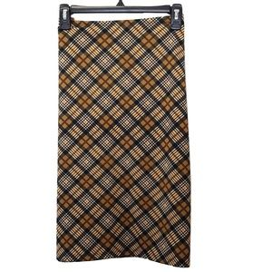 BCBG | Plaid Skirt | Medium